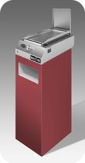 Pianeta Grill Zippy 250 Platte Red